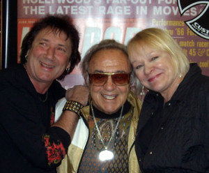 "Dan & Helen with the ""King of Customizers"" George Barris"